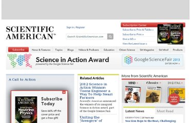 http://www.scientificamerican.com/science-in-action/