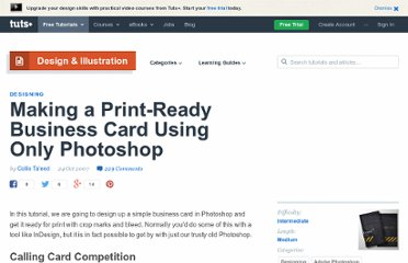 http://psd.tutsplus.com/tutorials/designing-tutorials/making-a-print-ready-business-card-using-only-photoshop/