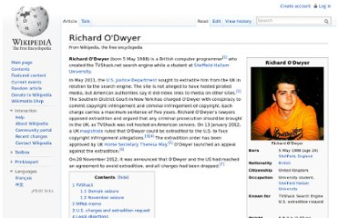 http://en.wikipedia.org/wiki/Richard_O%27Dwyer