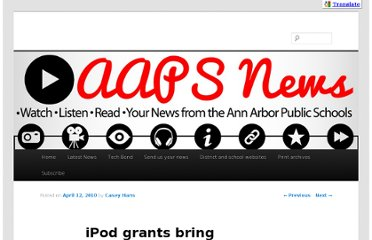 http://news.a2schools.org/ipod-grants-bring-high-tech-lessons-to-students-of-all-ages/