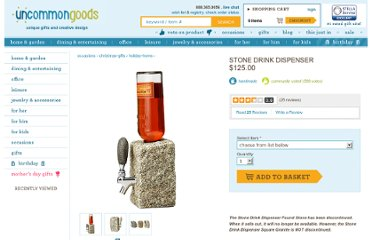 http://www.uncommongoods.com/product/stone-drink-dispenser