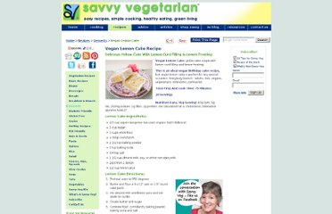 http://www.savvyvegetarian.com/vegetarian-recipes/vegan-lemon-cake.php