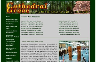 http://www.cathedralgrove.eu/text/07-Totem-Websites-1.htm