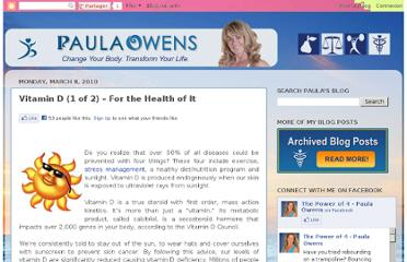 http://thepowerof4-paula.blogspot.com/2010/03/vitamin-d-for-health-of-it-part-1.html