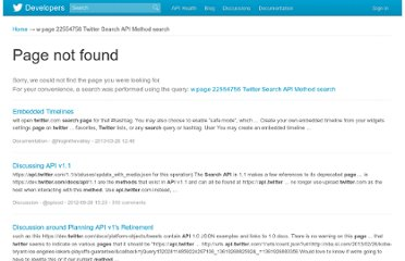 https://dev.twitter.com//w/page/22554756/Twitter-Search-API-Method:-search