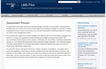 http://blogs.tlt.psu.edu/projects/lms-pilot/assessment/