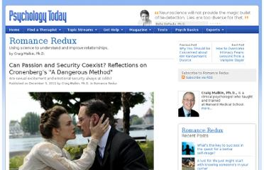 http://www.psychologytoday.com/blog/romance-redux/201112/can-passion-and-security-coexist-reflections-cronenberg-s-dangerous-method