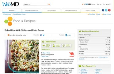 http://www.webmd.com/food-recipes/baked-rice-with-chilies-and-pinto-beans