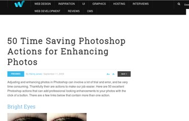 http://webdesignledger.com/freebies/50-time-saving-photoshop-actions-for-enhancing-photos