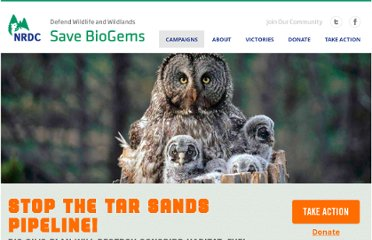 http://www.savebiogems.org/stop-the-tar-sands-pipeline/