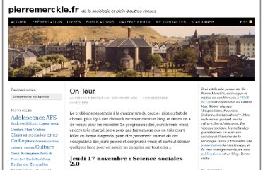 http://pierremerckle.fr/2011/12/on-tour/
