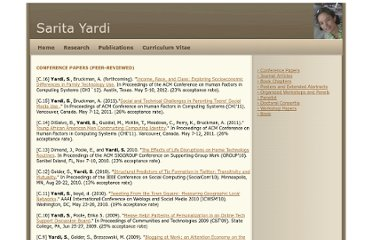 http://www.cc.gatech.edu/~yardi/publications.php#organizedworkshops
