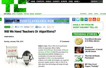 http://techcrunch.com/2012/01/15/teachers-or-algorithms/