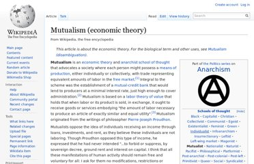 http://en.wikipedia.org/wiki/Mutualism_(economic_theory)