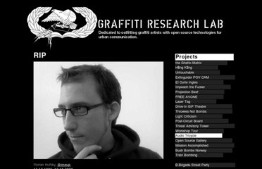 http://www.graffitiresearchlab.com/blog/