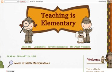 http://teachingiselementary.blogspot.com/2012/01/power-of-math-manipulatives.html