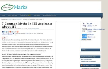 http://www.100marks.in/News/7-common-myths-in-jee-aspirants-about-iit/