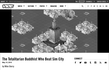 http://www.vice.com/read/the-totalitarian-buddhist-who-beat-sim-city