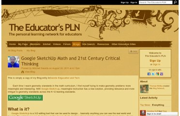 http://edupln.ning.com/profiles/blogs/google-sketchup-math-and-21st-century-critical-thinking
