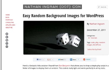 http://nathaningram.com/tutorials/random-background-images-for-wordpress/