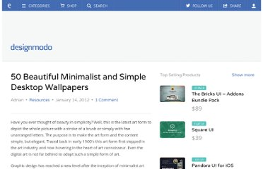 http://designmodo.com/minimalist-desktop-wallpapers/