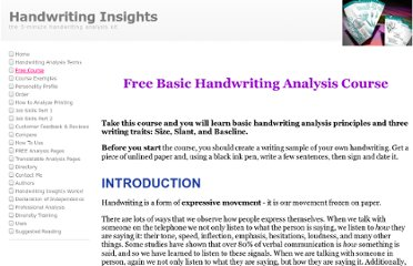 http://www.handwritinginsights.com/lesson.html