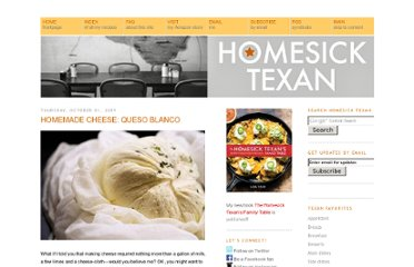 http://homesicktexan.blogspot.com/2009/10/homemade-cheese-queso-blanco.html