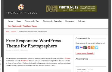http://photographicblog.com/free-responsive-wordpress-theme-for-photographers/