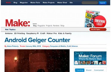 http://blog.makezine.com/2012/01/16/android-geiger-counter/