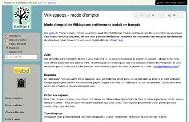 http://kmproject.wikispaces.com/Wikispaces+-+mode+d%27emploi