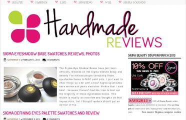 http://www.handmadereviews.net/search/label/swatches?max-results=10