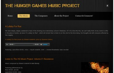 http://hungergamesmusic.weebly.com/the-music.html