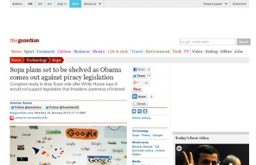 http://www.guardian.co.uk/technology/2012/jan/16/sopa-shelved-obama-piracy-legislation