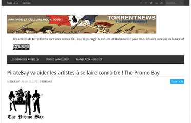 http://torrentnews.net/2012/01/16/4369-tpb-va-aider-artistes-the-promo-bay/
