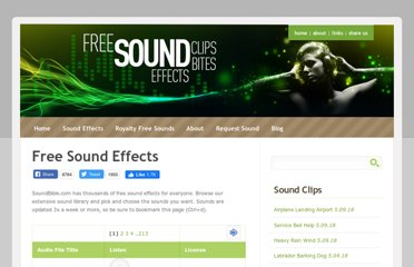 http://soundbible.com/free-sound-effects-1.html