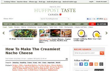 http://www.huffingtonpost.com/2012/01/12/how-to-make-nacho-cheese_n_1202697.html