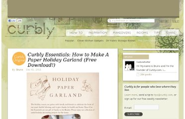http://www.curbly.com/users/bruno/posts/12969-curbly-essentials-how-to-make-a-paper-holiday-garland-free-download