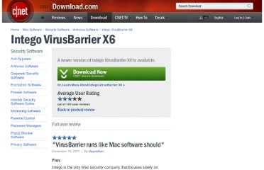 http://download.cnet.com/Intego-VirusBarrier-X6/9241-2239_4-12309570.html?messageID=10828076&tag=uo