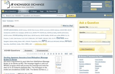 http://itknowledgeexchange.techtarget.com/itanswers/tag/as400/