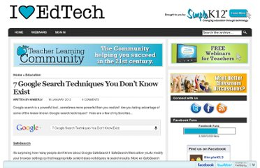 http://blog.simplek12.com/education/7-google-search-techniques/