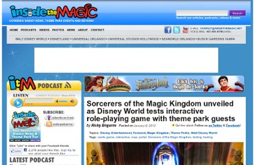 http://www.insidethemagic.net/2012/01/sorcerers-of-the-magic-kingdom-unveiled-as-disney-world-tests-interactive-role-playing-game-with-theme-park-guests/