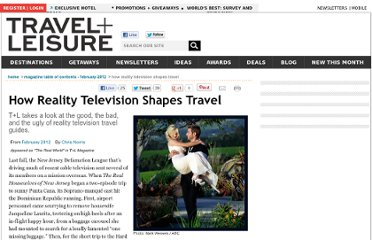 http://www.travelandleisure.com/articles/how-reality-television-shapes-travel