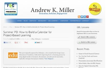 http://www.andrewkmiller.com/2011/06/summer-pd-how-to-build-a-calendar-for-project-based-learning/