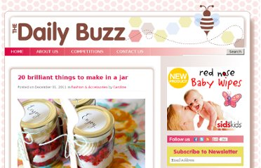 http://www.thedailybuzz.com.au/2011/12/20-things-to-make-in-a-jar-3/