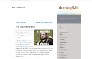 http://www.theanalogdivide.com/2012/01/the-midwinter-bump/