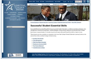 http://www.lonestar.edu/successful-student-skills.htm