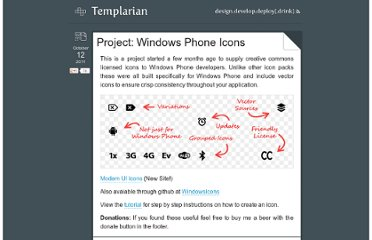 http://templarian.com/project_windows_phone_icons/