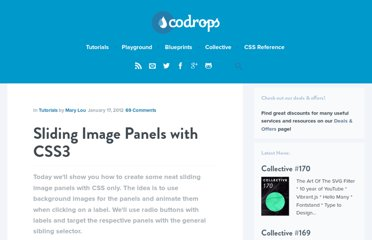 http://tympanus.net/codrops/2012/01/17/sliding-image-panels-with-css3/