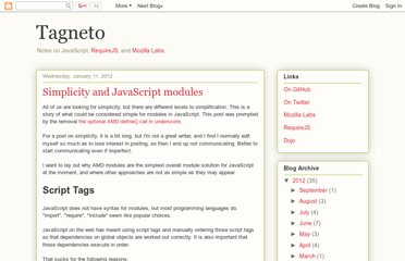http://tagneto.blogspot.com/2012/01/simplicity-and-javascript-modules.html