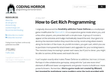 http://www.codinghorror.com/blog/2007/05/how-to-get-rich-programming.html